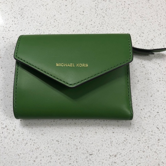 6b49e38ec85d Michael Kors Bags | Blakely Small Leather Envelope Wallet | Poshmark